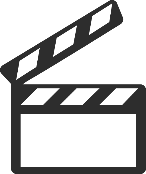Movie clip art png. Exp movies design icons