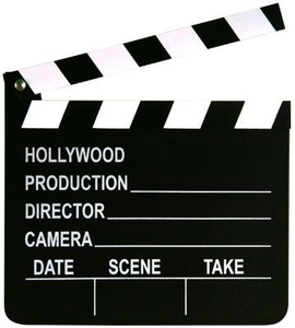 Movie clipart director's cut. Director free images at
