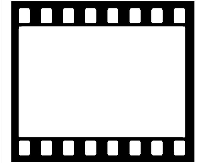 Movie clipart frame. Beste reel picture fotos
