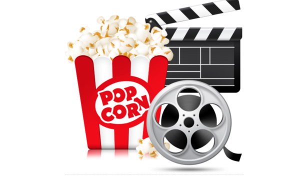 Movie clipart movie item. And popcorn with mrs