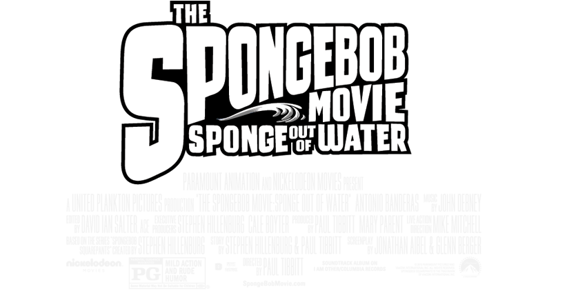 Movie credits png. Image spongebob out of