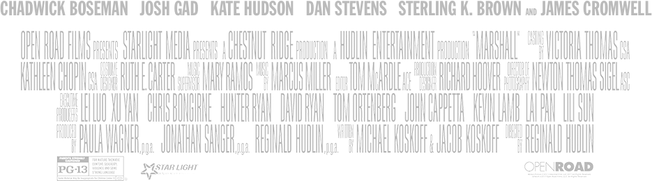 Movie credits png. Marshall official site now