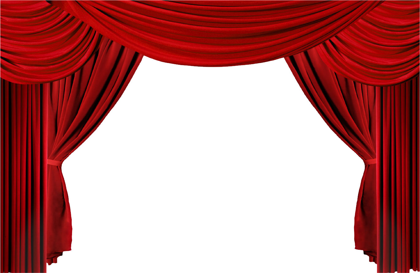 Movie curtains png. Window theater drapes and