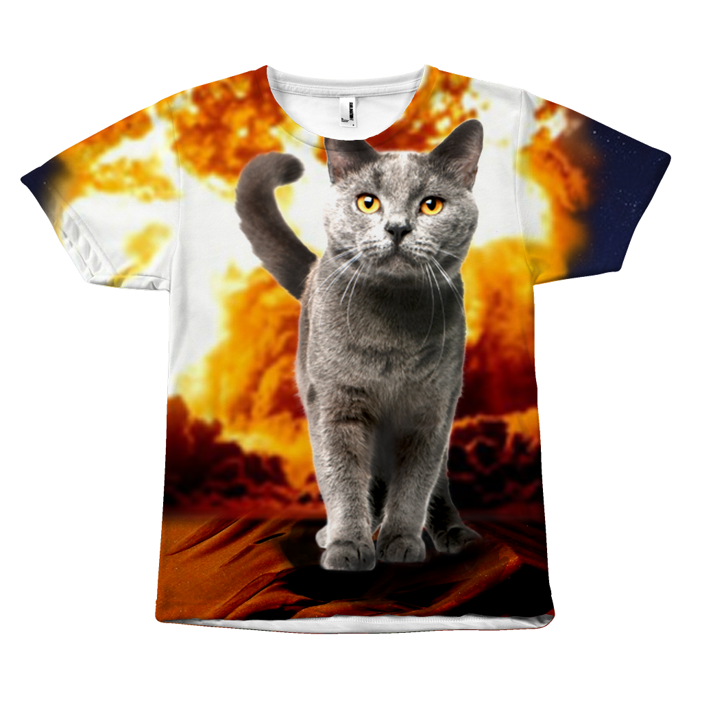 Movie explosion png. Cat action crazy art