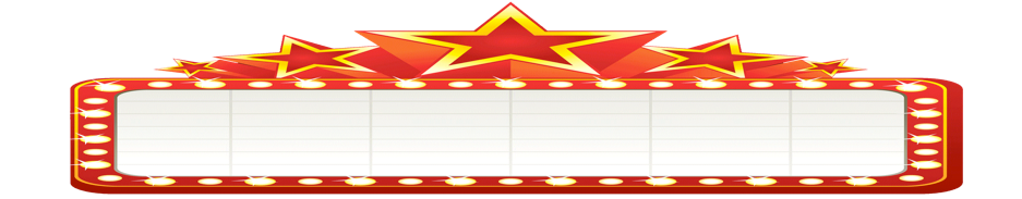 Movie marquee png. Welcome