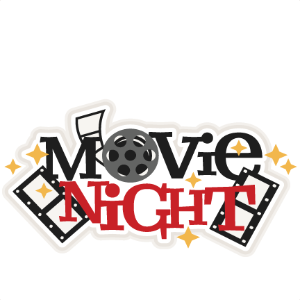 Movie night png. Collection of clipart