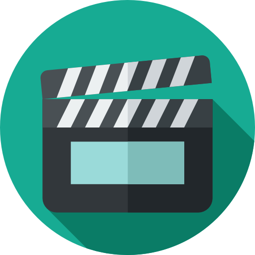 Movie png icon. Cinema page svg