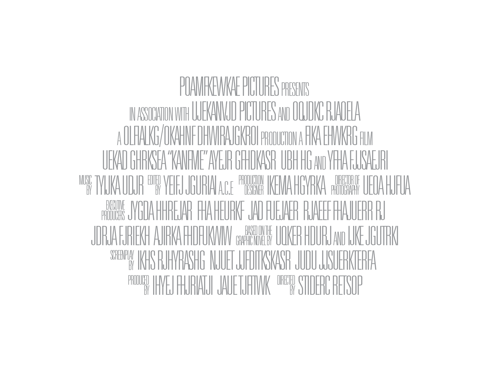 Movie poster credits png. Lines greek billing