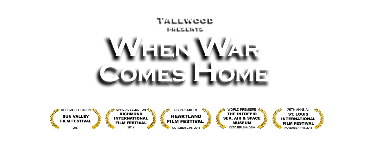 Movie poster png. When war comes home