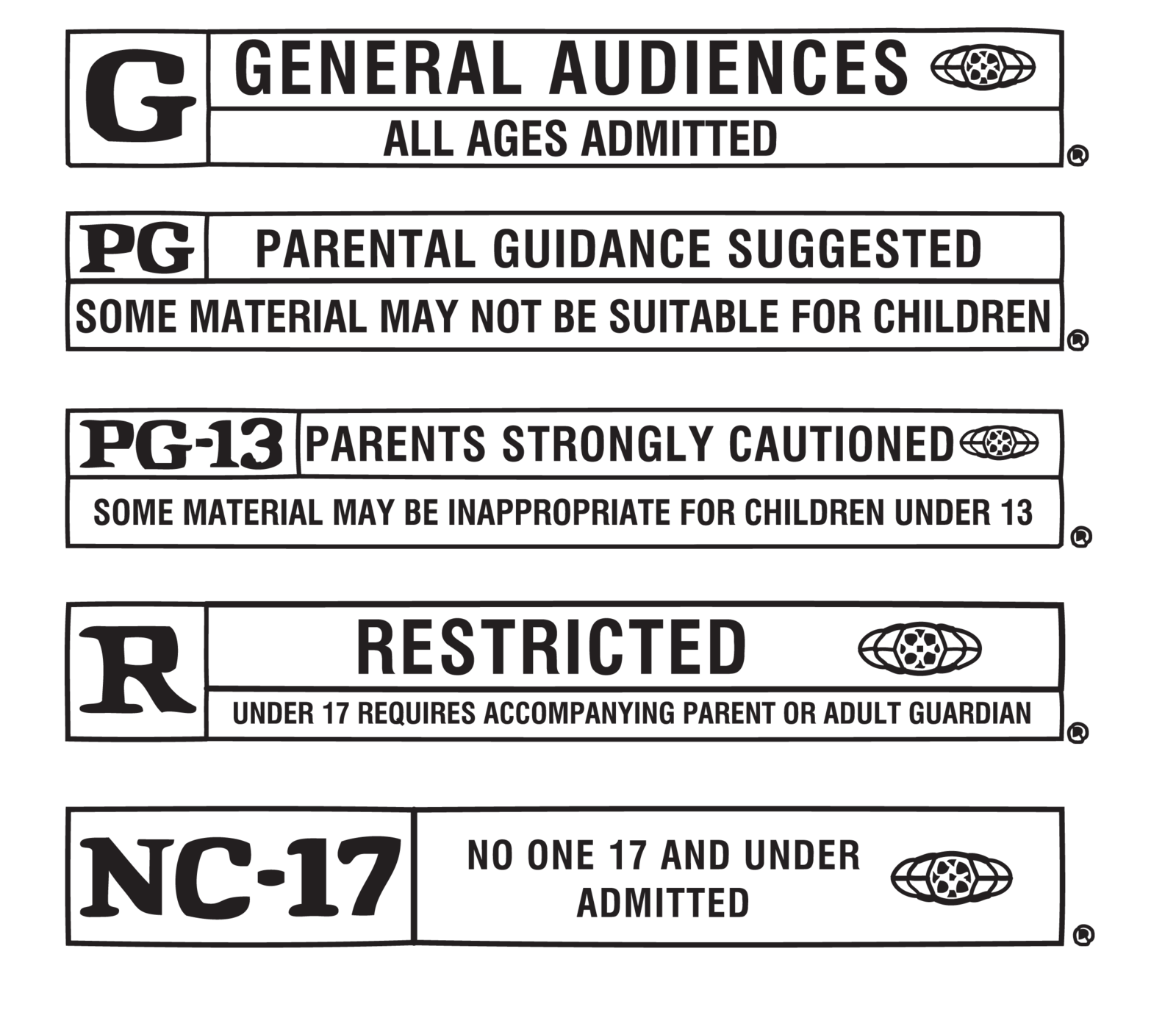 Movie rating png. Labels by fairyfindings on