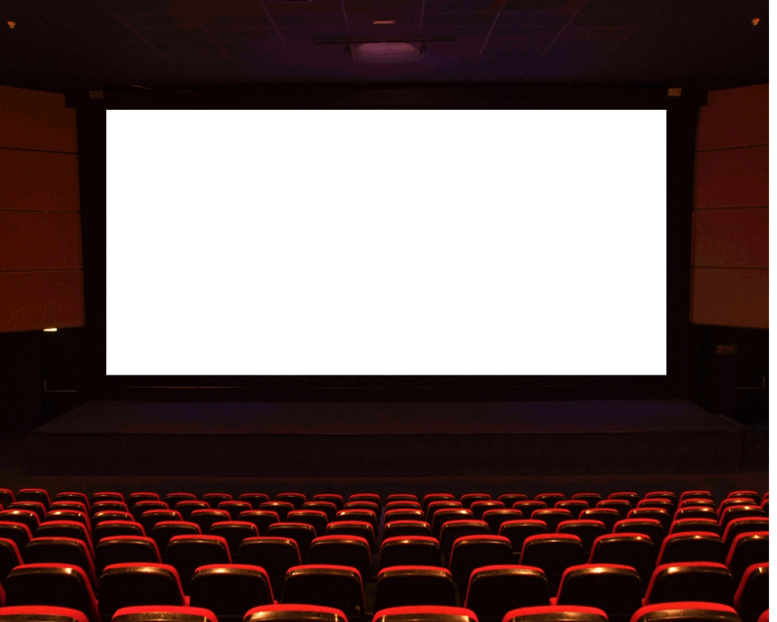 Movie screen png. Theater birthday