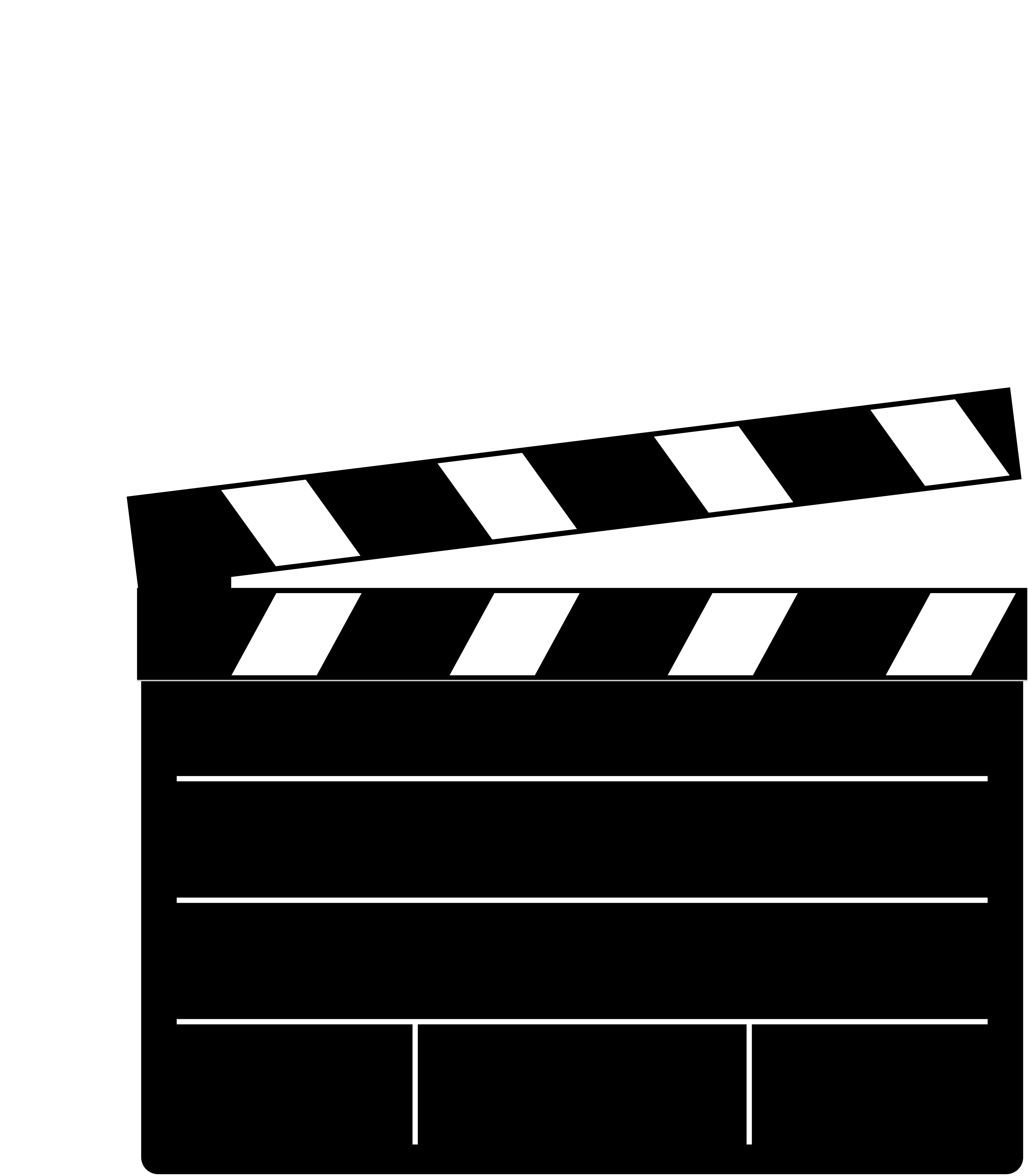 Movie slate png. Clapperboard transparent images all