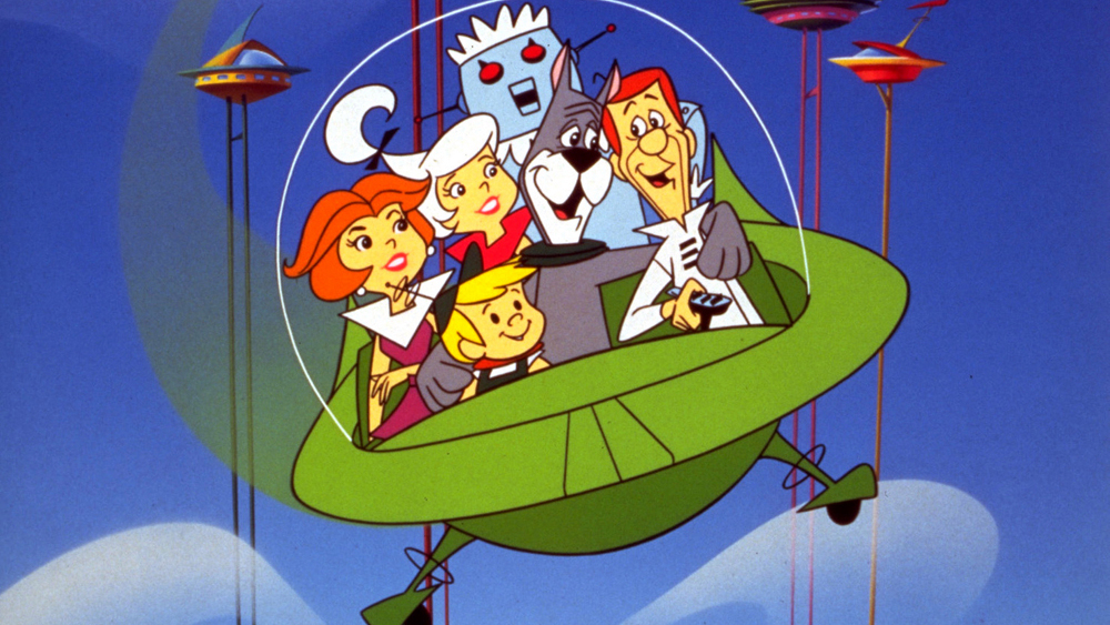 Movie the jetsons. Live action series lands
