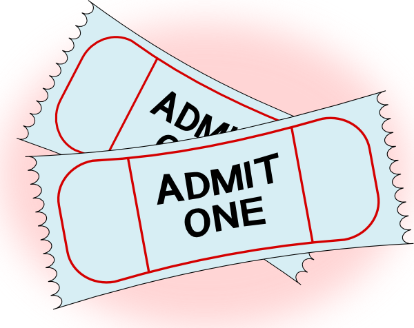 ticket svg concert