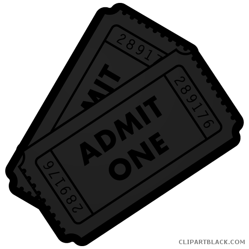 Movie ticket clipart png. Page of clipartblack com