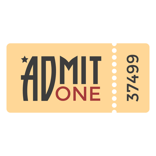 Movie tickets png. Ticket transparent svg vector