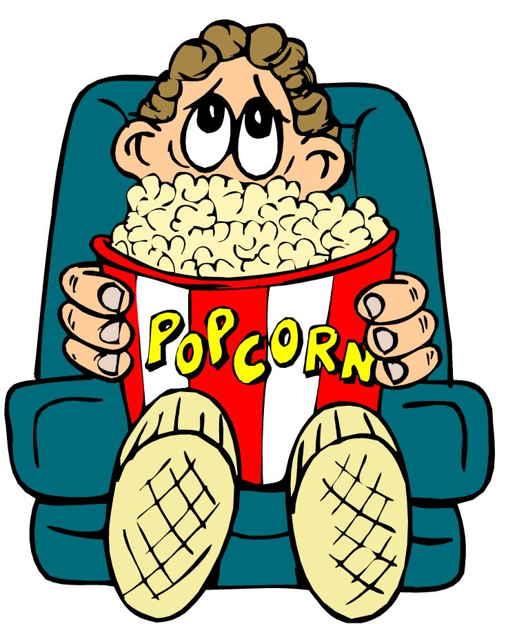 Watching clipart. Movie images pictures becuo