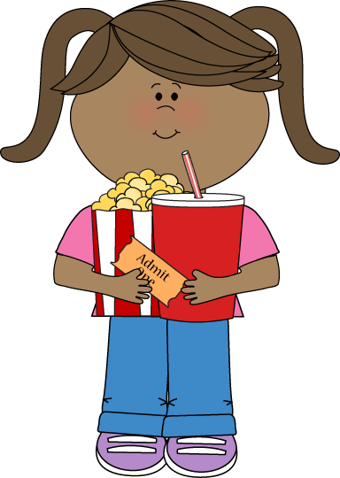Movies clipart kid. Movie specials for kids