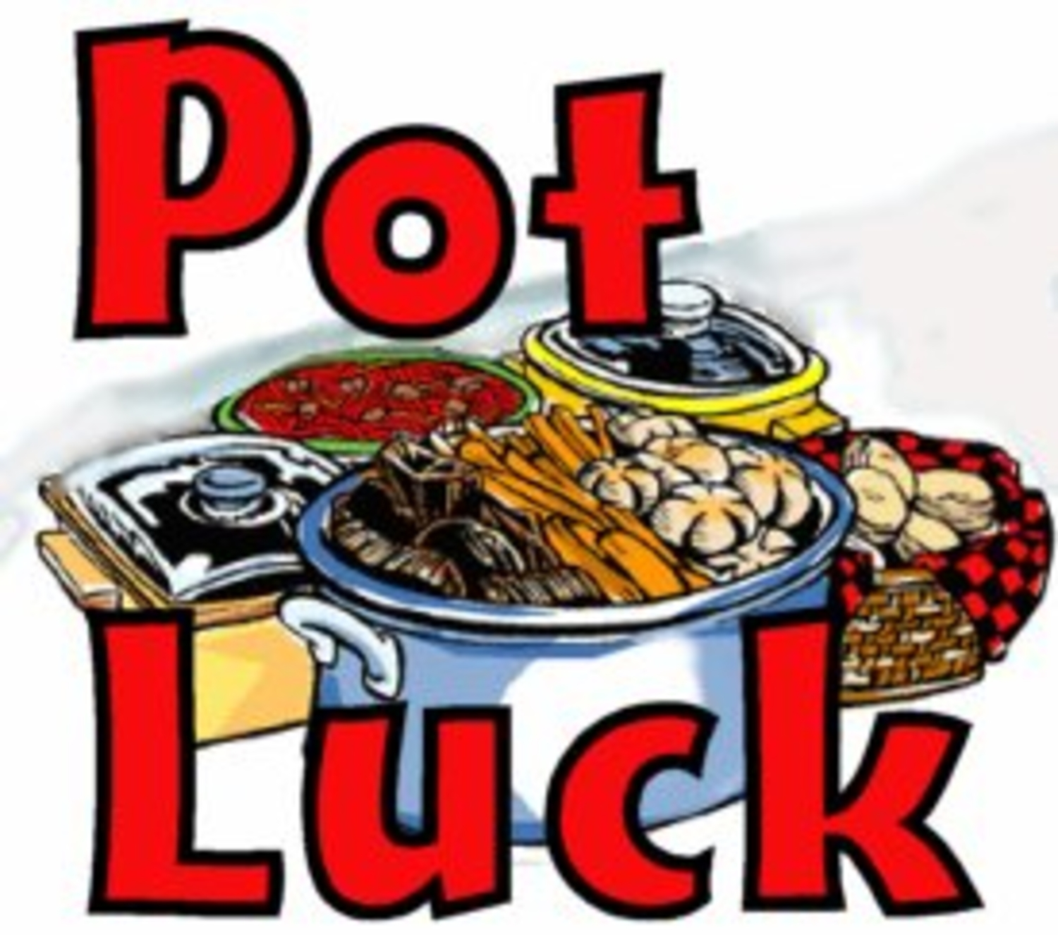 Potluck clipart. Dinner and a movie