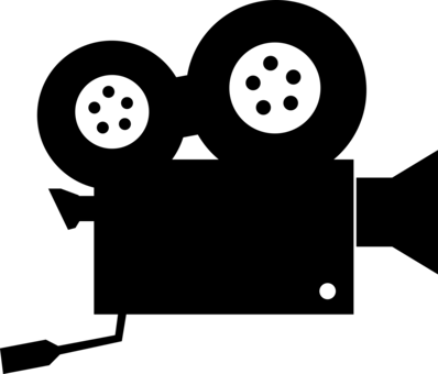 Movies clipart movie symbol. Filmmaking cinema television computer
