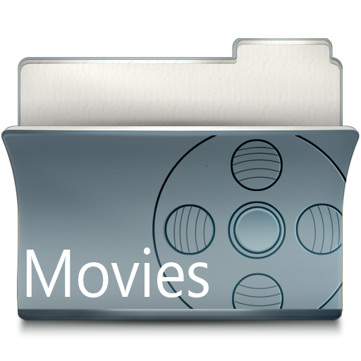 Movies folder icon png. Imod by babasse download