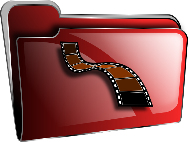 Movies folder png. Movie icon clip art