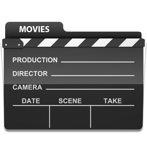 Movies folder png. Icon by leftright on