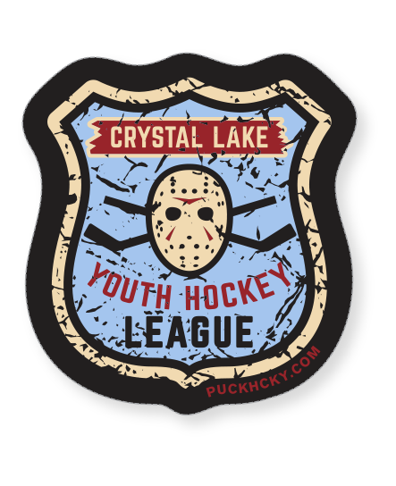 Movies vector horror. First jason youth hockey