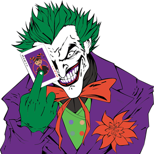 J drawing joker. Batman clipart at getdrawings