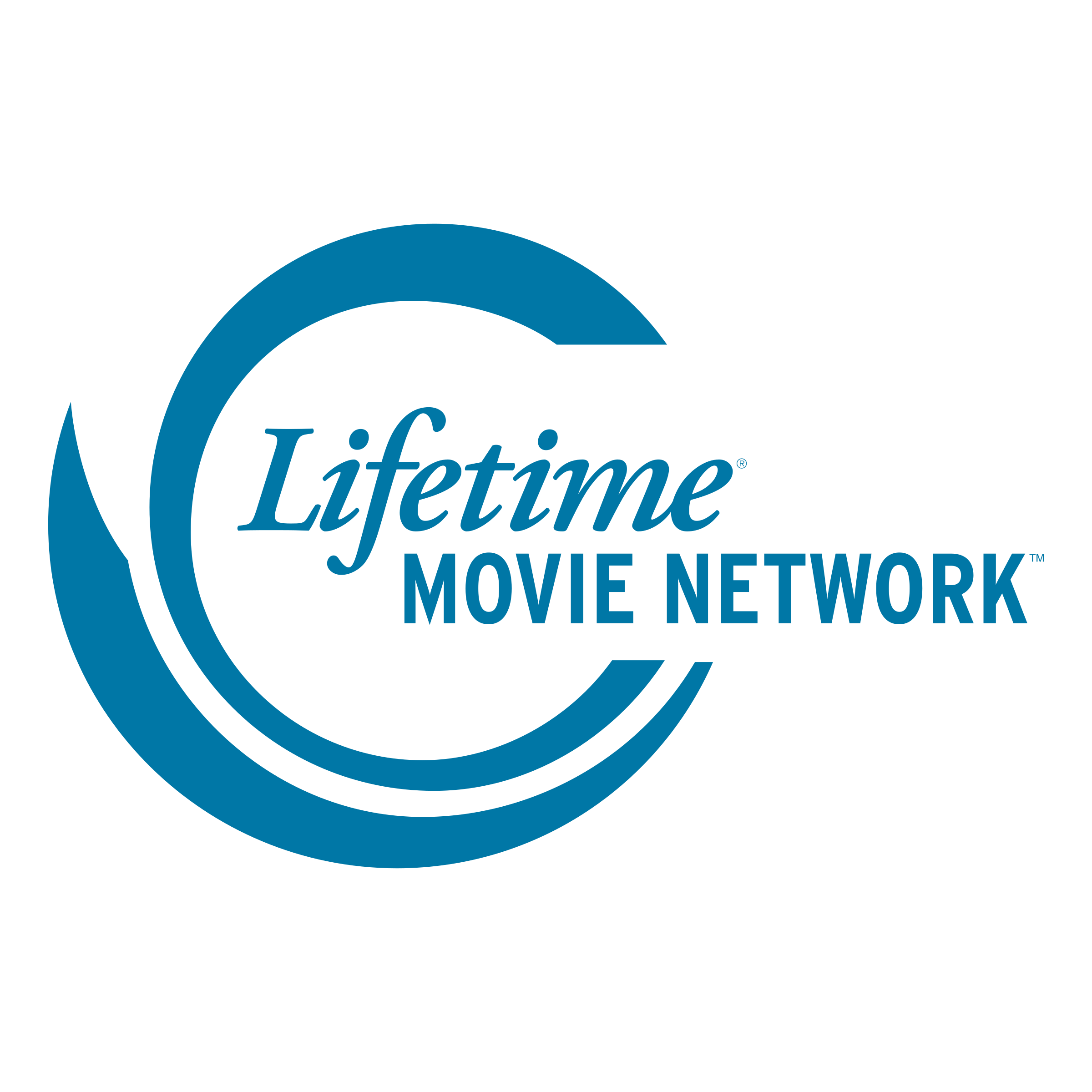 Movies vector logo. Lifetime network png transparent