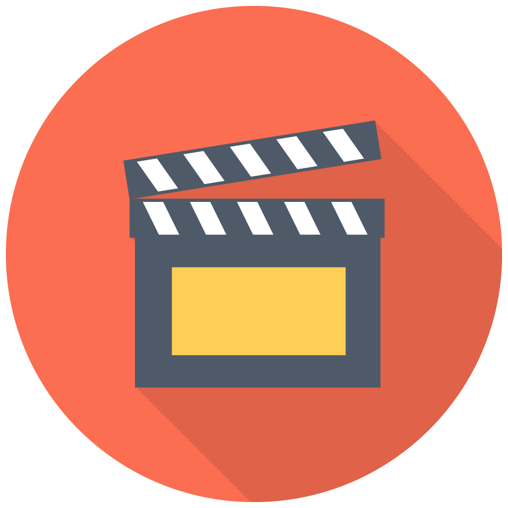 Movies vector multimedia. Clapper icon myiconfinder film