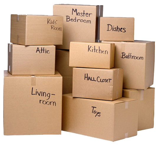moving boxes png