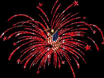 Moving clipart july 4th. Best patriotic gif