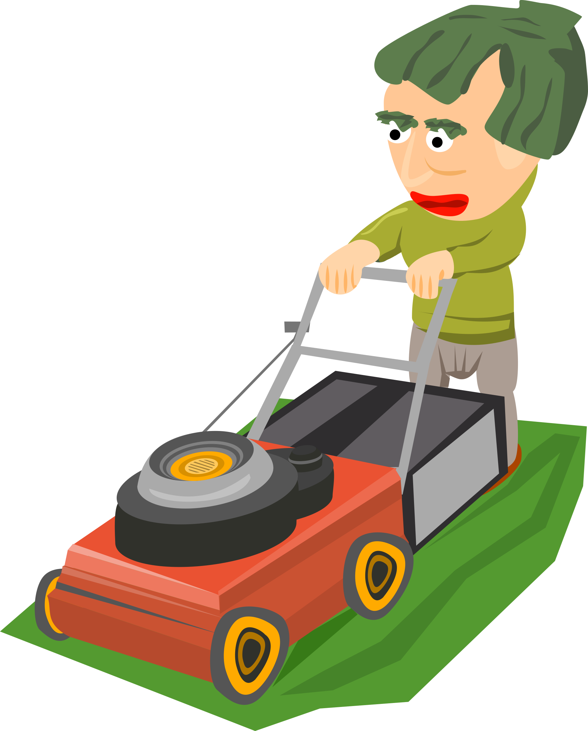 Mowing clipart file. The lawn icons png