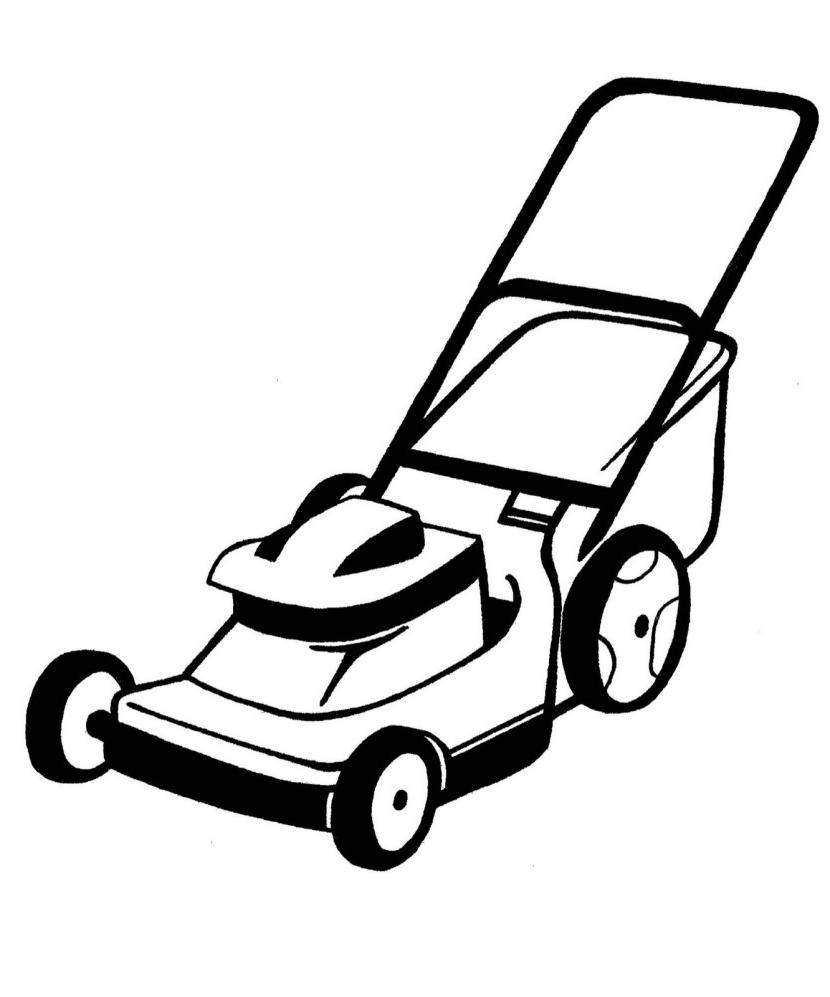 Mowing clipart file. Best lawn mower free