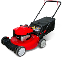 Mowing clipart lawn equipment. Products rotary petrol mower