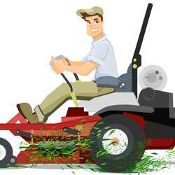 Mowing clipart lawn service. Earl s care tree