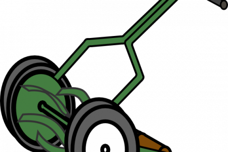 Mowing clipart vector. Rotor lawn mower explore