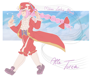 Mozart drawing anime. Classicaloid by heart on