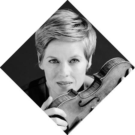 Mozart drawing photograph. Isabelle faust rco