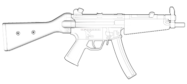 Mp5 drawing. Collection of mp