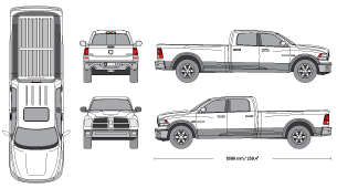 Mr clipart dodge ram. Current vehicle templates