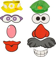 Mr clipart mrs potato head. Parts printables numbers storytime