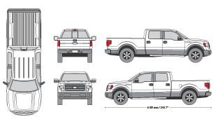 Mr clipart truck tailgate. Photo realistic d mockups