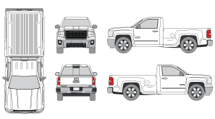 Pickup clipart truck gmc. Mrclipart adorable with original