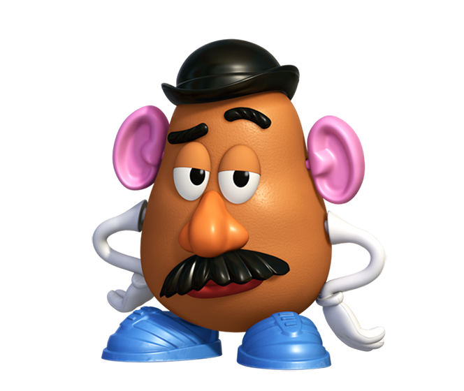 mr potato head toy story png