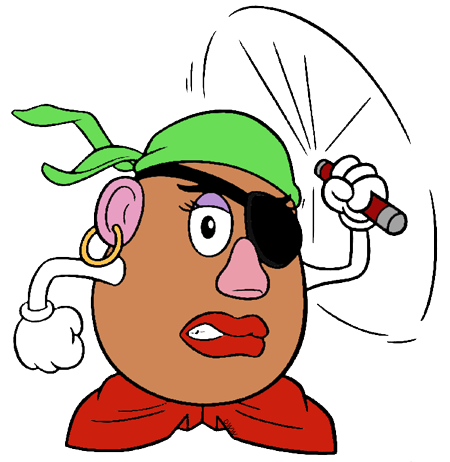 Potatoes drawing toy story. Potato head clipart at