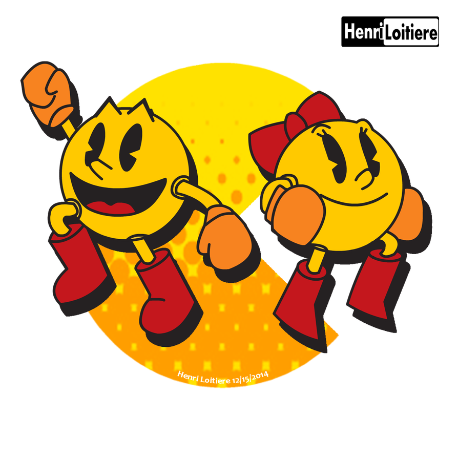 Ms pacman png. And by mariohenri on