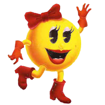 Ms pacman png. Image mrs pepper pac