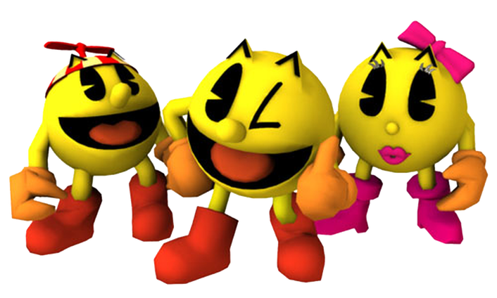 Ms pacman png. Pac man s rocky